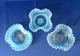 Fenton Blue Opalescent Bonbon's  - $35.00