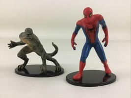 Amazing Spider Man Figures Cake Toppers Spiderman The Lizard Marvel Supe... - $14.80