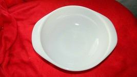 PYREX OVENWARE VINTAGE OPAL WHITE #023 CASSEROLE DISH 8 INCH FREE USA SH... - $23.36
