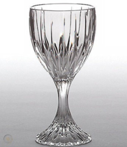 Set Of 6  Mikasa Park Lane Cordial Sherry Vertical Cut Stems Glasses - $98.99