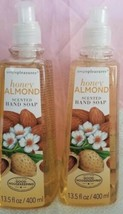 Simple Pleasures  Honey Almond Scented Hand Soap  13.5 FL OZ  Lot of 2 - $16.82