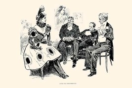 After the Performance by Charles Dana Gibson - Art Print - $19.99+
