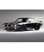 1970 Pontiac Firebird black 24X36 inch poster, sports car, muscle car - $18.99