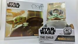 Star Wars Mandalorian Yoda The Child Pram Disney RC - Puzzle Shaped Card... - $26.14