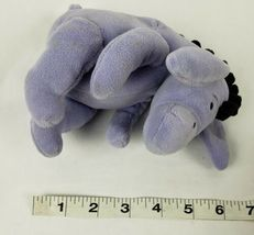 "Disney Winnie The Pooh Eeyore 6"" Plush Donkey Stuffed Animal Jingle Bell image 5"