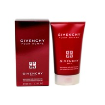 GIVENCHY POUR HOMME AFTER SHAVE MOISTURIZING BALM ALCOHOL-FREE 100ML NIB - $58.91