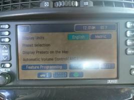 2006 Cadillac SRX Navigation GPS Radio CD DVD Display GM P/N 10386078 - $247.45