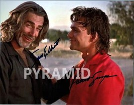 ROADHOUSE Cast -PAT SWAYZE & SAM ELLIOTT Autographed Signed Photo w/COA ... - $165.00