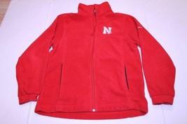 Youth Nebraska Cornhuskers L (14/16) Fleece Pullover Jacket Columbia - $15.88