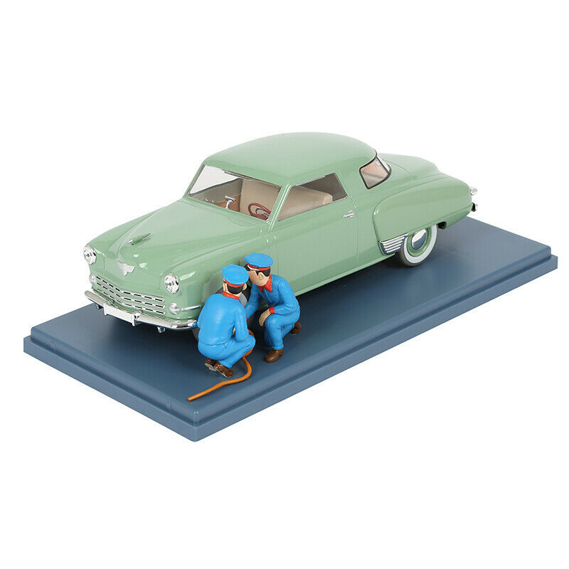 The Studebaker from the zoom garage  1/24 Voiture Tintin cars 2019