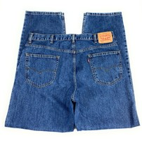 Levi's Men's 550 Relaxed Fit Tapered Leg 100% Cotton Denim Blue Jeans 40x34 - $27.92
