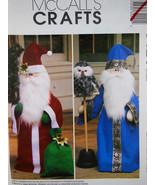 "McCalls 3424 PATTERN Santa Claus & Wizard Dolls 33"" Greeter & OWL Uncut ... - $10.88"