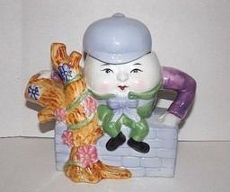 Feitx Humpty Dumpty Ceramic Teapot Collectible - $10.40