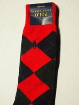 Polo Ralph Lauren men's argyle cashmere blend dress sock - $24.30