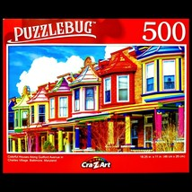 500 Piece Jigsaw Puzzle Puzzlebug 18 in x 11 in, Gulford Ave. Baltimore ... - $5.65