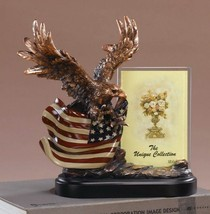 Eagle With Flag Picture Frame-Flag Picture Frame - 10 x 5.5 x 10 Inch - $89.54