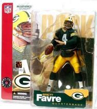 Brett Favre Green Bay Packers McFarlane action figure new NFL Series 4 Go Pack - $51.97