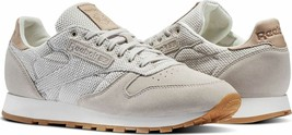 Reebok Classic Leather EBK Men's Trainers Running Shoes - BS7850 - Grey - $77.55+
