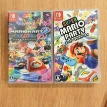 Nintendo Switch Mario Kart 8 Deluxe Party 2 Set Racing Video Game Japan - $187.98