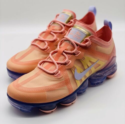 Primary image for NEW Nike Air VaporMax 2019 Bleached Coral AR6632-603 Women's Size 7.5