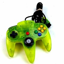 N64 Controller Extreme Lime Green Tested Read - $39.59