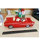 Santa Riding in Chevrolet Car Delivering Presents collectable décor - $44.50