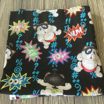 Japanese Cats Sumo Sam Wrestler Cotton Fabric by Michael Miller - $15.78