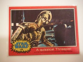 Star Wars Series 2 (Red) Topps 1977 Trading Card # 126 A Quizzical Threepio - $1.49