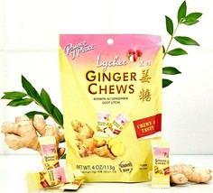 Prince of Peace Ginger Chews Candy with Lychee 4 oz - $6.63