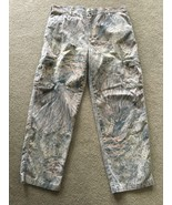 Mossy Oak Pants Camo Cargo Mens 40 x 32 Large L 0005 MossyOak Hunting Du... - $14.84