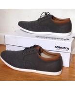Men's Sonoma Vitalize Ortholite Grey Gray Oxford Casual Shoes Sz 12 NIB NEW - $69.99