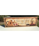 Wood Message Block 5W1356 There's A time to plant, A time to havest  - $9.95