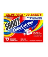 ShoutColor Catcher Dye Trapping Sheets, 72 Count - $24.95