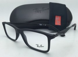 Neuf Ray-Ban Rx-Able Classique Lunettes RB 7023 2077 55-17 Mate Noir Cadres - $199.57