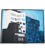 Tri-Color Building 459 & 457 West 18th Street New York City ~ Art Quilt - $700.00