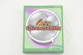 QRAZY QUANDARIES Get Acquainted Card Game by Simply Fun New Unopened Cards  - $9.28