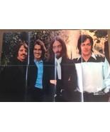 Original 1969 The Beatles US Fan Club Bulletin Poster - $39.90