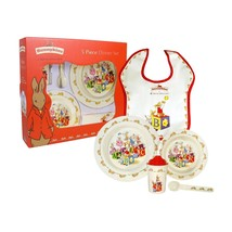 Royal Doulton Bunnykins Melamine 5-Piece Place Setting NEW IN THE BOX - $42.06