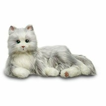 Silver Cat with White Mitts - Interactive Companion Pets - Realistic & Lifelike - $200.32+