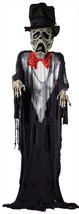 GHOST GROOM HALLOWEEN PROP Haunted House Scary Wedding Suit Creepy Garde... - $119.90