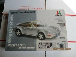 Italeri Porsche 911 America Roadster 1/24 scale - $36.99