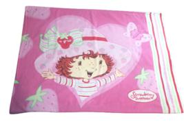 Vintage Strawberry Shortcake Pillowcase Pillow Bed Girl Retro Collectibl... - $14.84