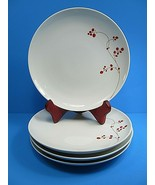 "MIkasa Gourmet Basics RED BERRIES IND01016 Salad Plates 8.25"" Set of 4 - $31.04"
