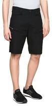 Armani Exchange Authentic Side Zip Cargo Shorts Black Nwt - $49.99