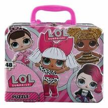 L.O.L Surprise! 48pc Puzzle Tin Box Lunch Tin - $13.16