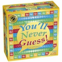 You'll Never Guess Board Game Sealed 2012 Ages 14 to Adult 2+ Players Se... - $19.99