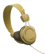 WeSC B105606813 WeActivist Clint Petersen Tobacco Over Ear Headphones NIB