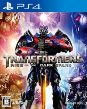 USED PS4 Transformers Rise of the Dark Spark from Japan Free Shipping - $26.82