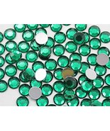 Allstarco 3mm SS12 Green Emerald A10 Acrylic Rhinestones for Face Painti... - $5.08