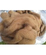 100% Huacaya Alpaca Roving Medium & Light Fawn Blend - $60.00